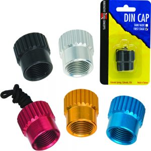 Aluminum Regulator Din Cap