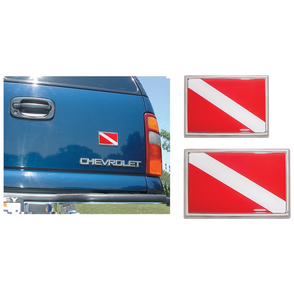 Chrome Auto Emblem