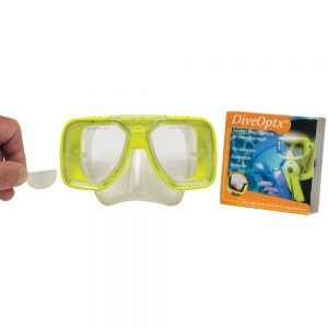Dive-Optx Reusable Prescription Lenses