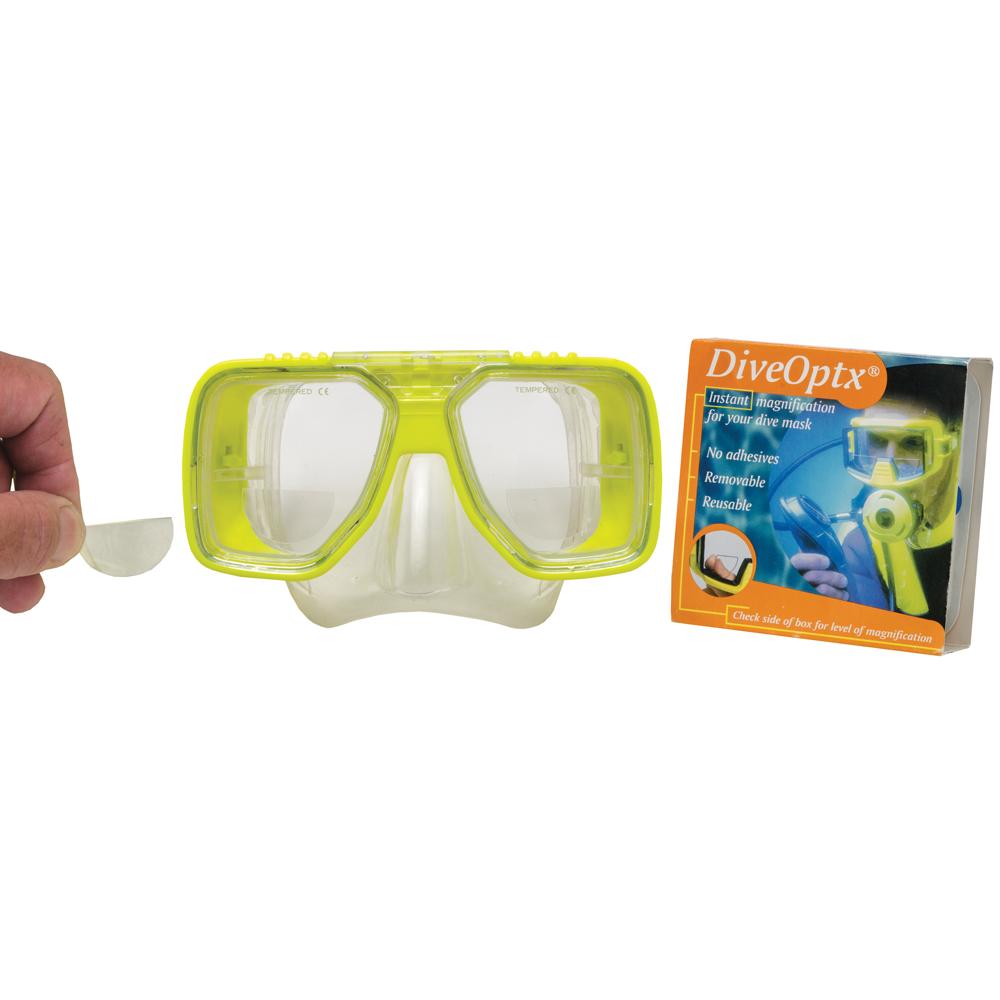 Dive-Optx Reusable Prescription Lenses