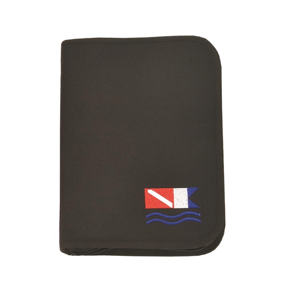 3-ring Binder Black Dive Flag