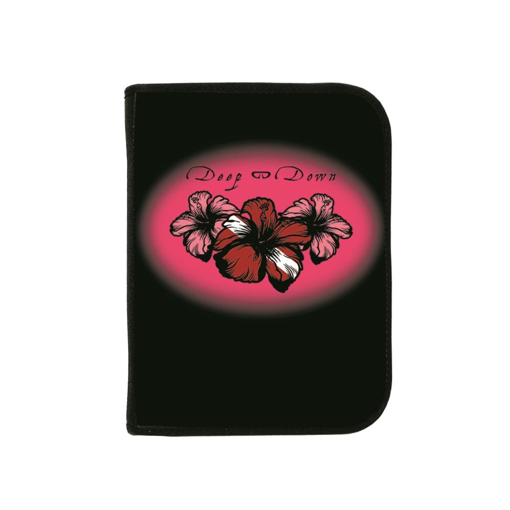 3-ring Binder A/o Pink Hibiscus