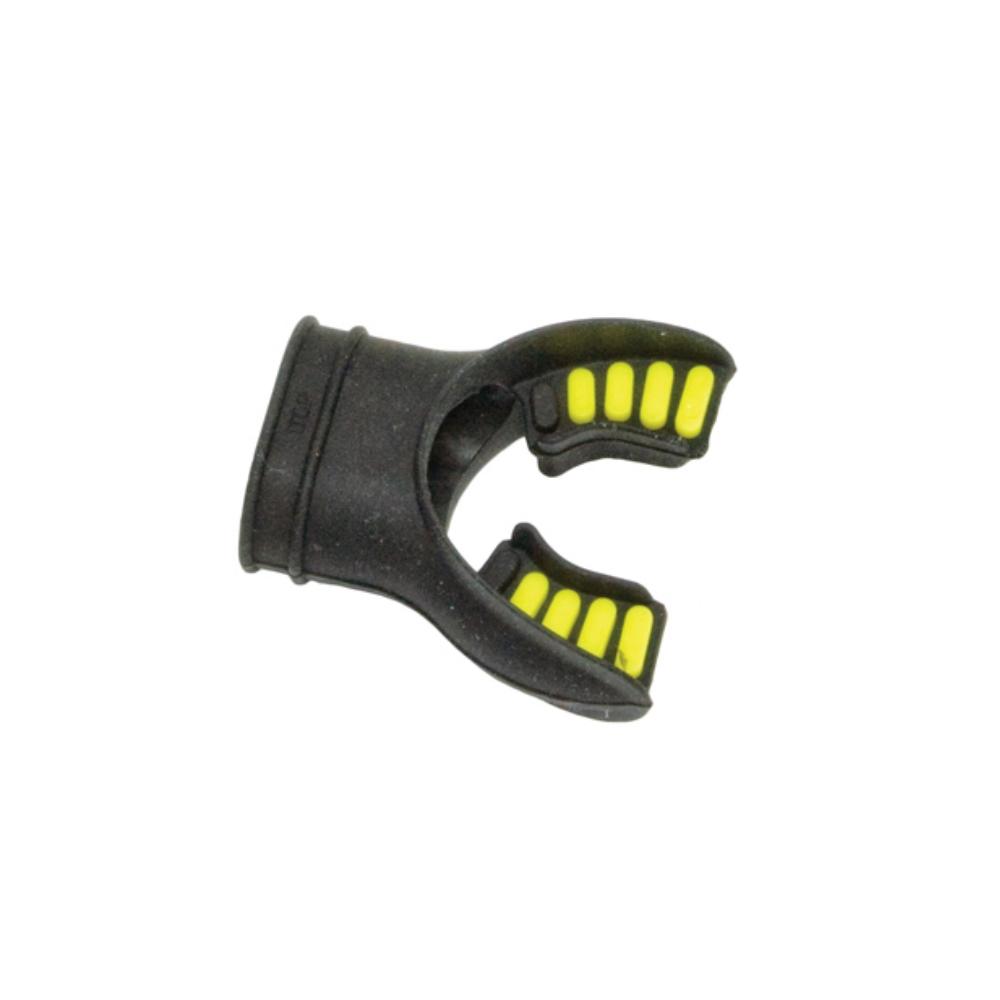 Mouthpiece - Silicone Bite Tabs Black/yellow