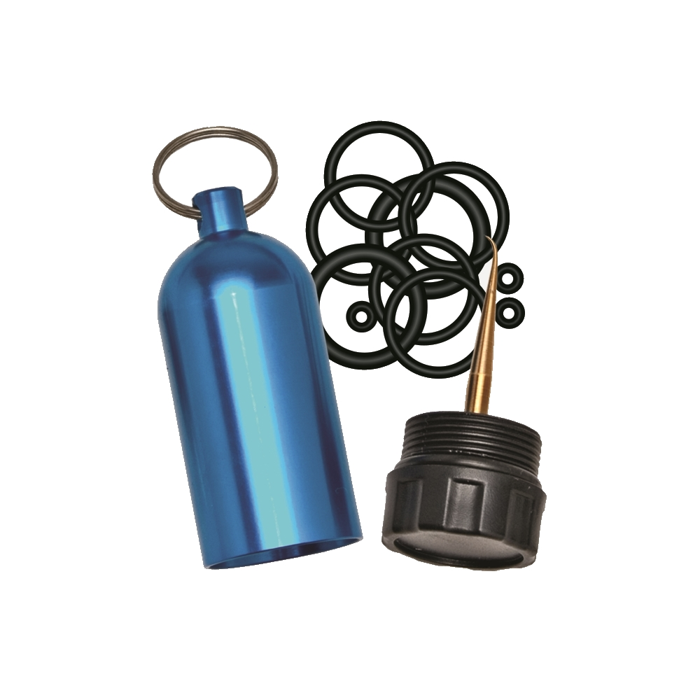 Scuba Tank Keychain with Pick