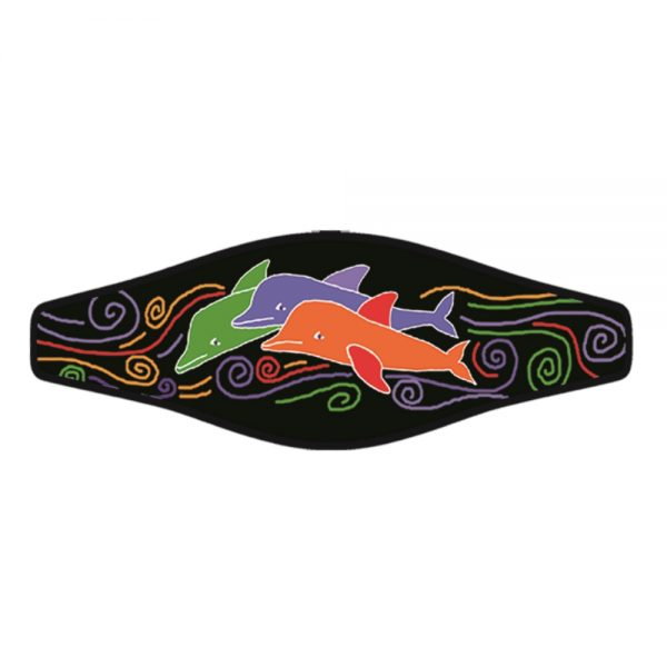 Picture Buckle Strap – 3 Dolphins 1