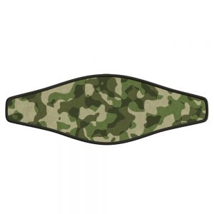 Picture Buckle Strap - Green Camo - Blank