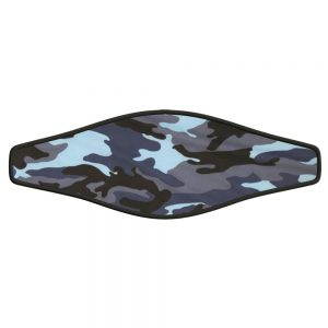 Picture Buckle Strap - Blue Camouflage