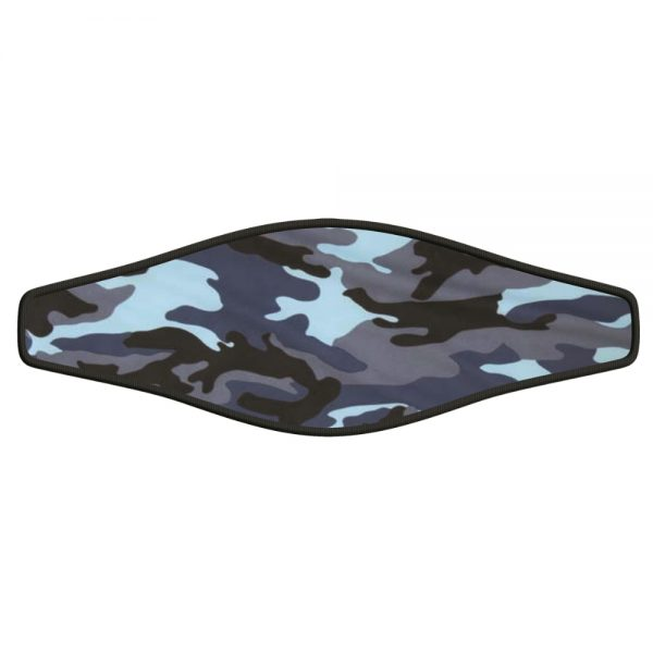 Picture Strap-Wrapper – Blue Camouflage 1