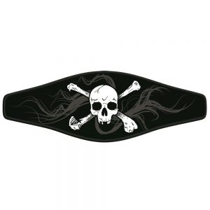 Picture Buckle Strap - Skull and Crossbones