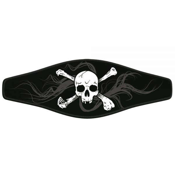 Picture Buckle Strap – Skull and Crossbones 1