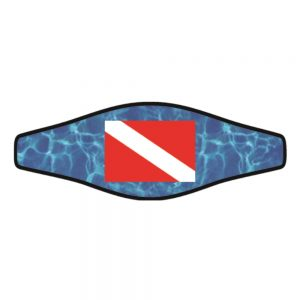 Picture Slap Strap - Dive Flag