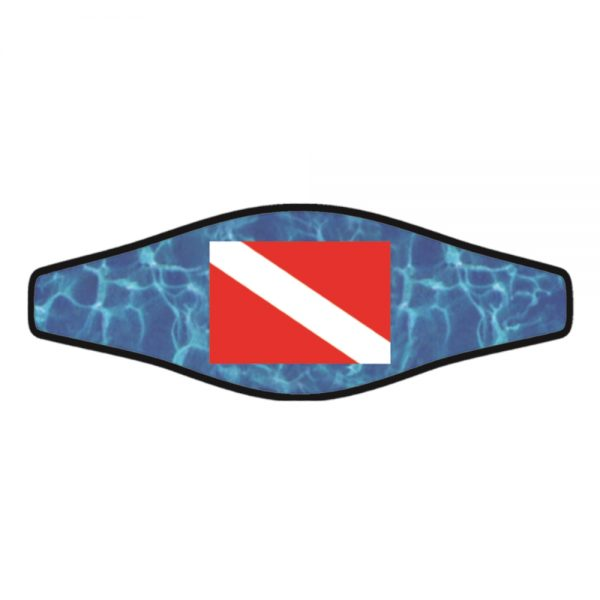 Picture Slap Strap – Dive Flag 1