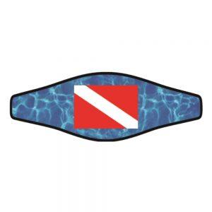 Picture Buckle Strap - Dive Flag