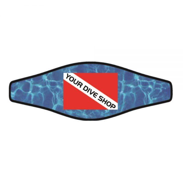 Picture Slap Strap – Dive Flag – IMPRINT 1