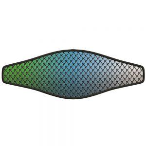 Picture Slap Strap - Fish Scales - Blue