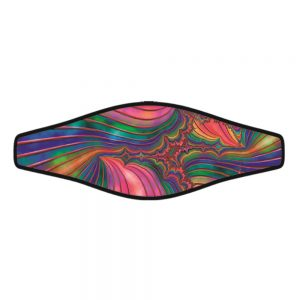 Picture Buckle Strap - Psychedelic