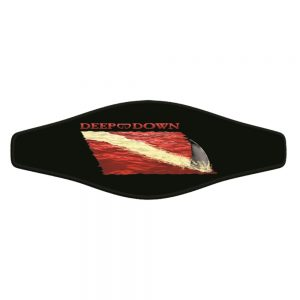 Picture Buckle Strap - Shark Fin Flag