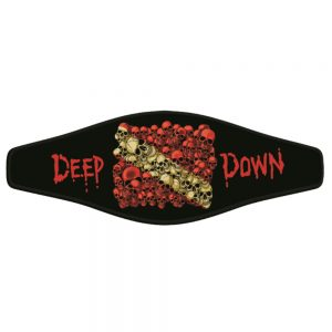Picture Buckle Strap - Skull Dive Flag