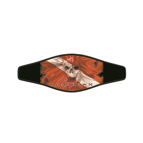 Picture Buckle Strap – Skull Flag 1