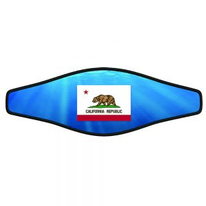 Buckle strap - California State Flag