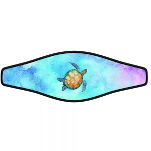 Combo strap - Water Color Turtle